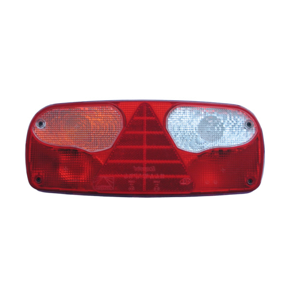 Aspoeck Ecopoint Rear Light Left Hand With Triangle Reflex Reflector