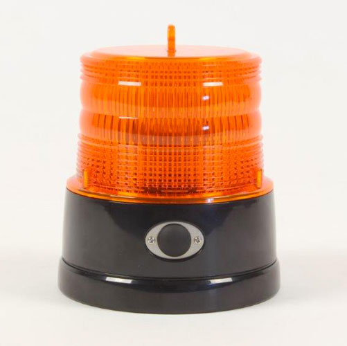 Battery Powered Flashing Beacon Magnetic Base Mount - Britax 75FPM B364.00.BAT