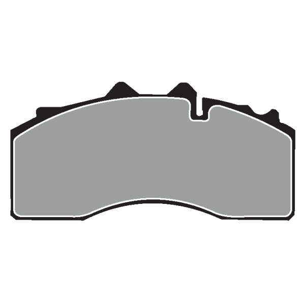 BPW GENUINE BRAKE PAD SET 19.5\