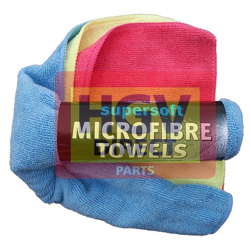 MICROFIBRE TOWELS 3 PIECE PACK