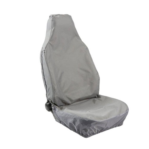 SEAT COVER FRONT UNIVERSAL GREY