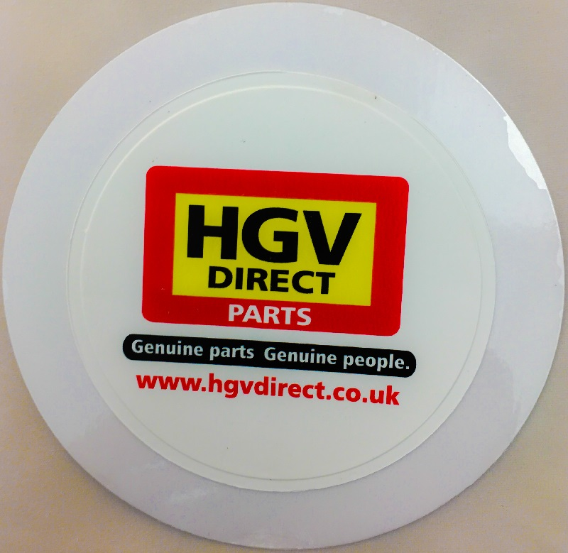 LICENCE HOLDER SELF ADHESIVE 102MM DIAMETER