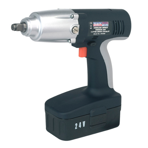 Cordless Impact Wrench 24V 1/2�Sq Drive 325lb.ft