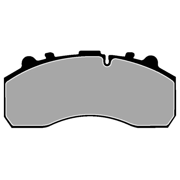 MERCEDES-BENZ ACTROS MP2 BRAKE PAD SET FRONT
