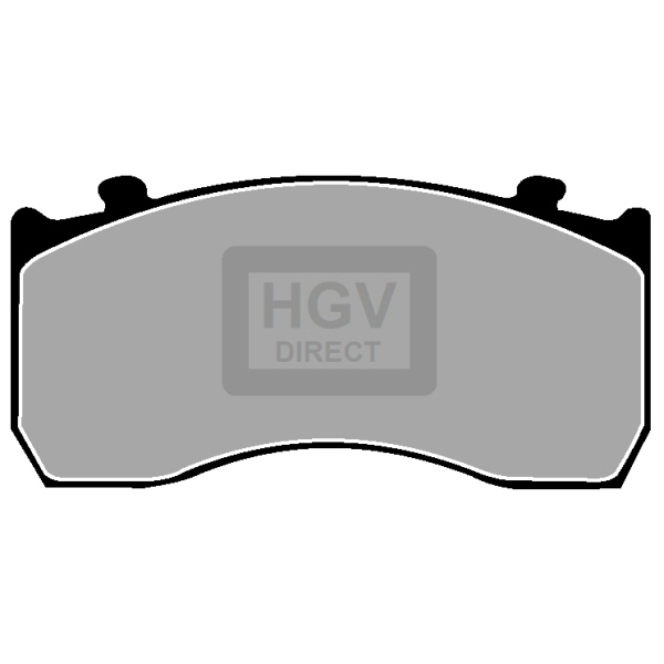 TRUCK HGV BRAKE PADS SET CVP035