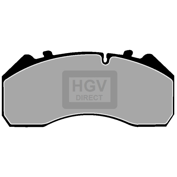 TRUCK HGV BRAKE PADS SET FCV1275B