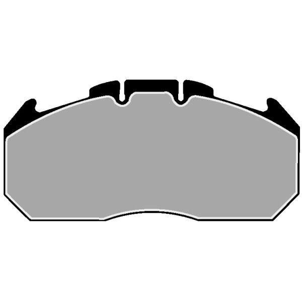 TRUCK HGV BRAKE PADS SET FCV1404B