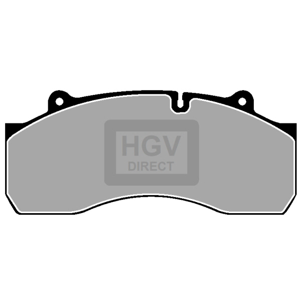 TRUCK HGV BRAKE PADS SET FCV1367B
