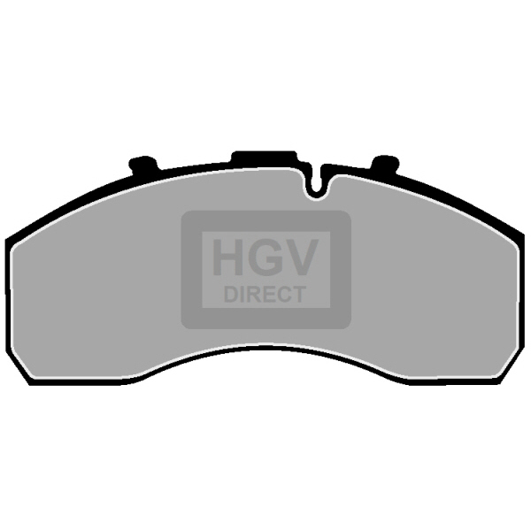 TRUCK HGV BRAKE PADS SET CVP103K