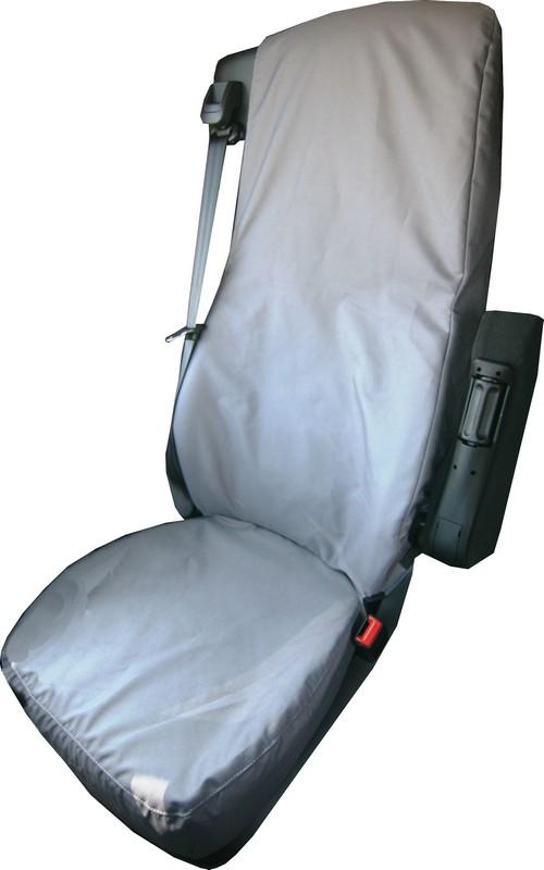 DAF CF & XF Driver Seat Cover- Black