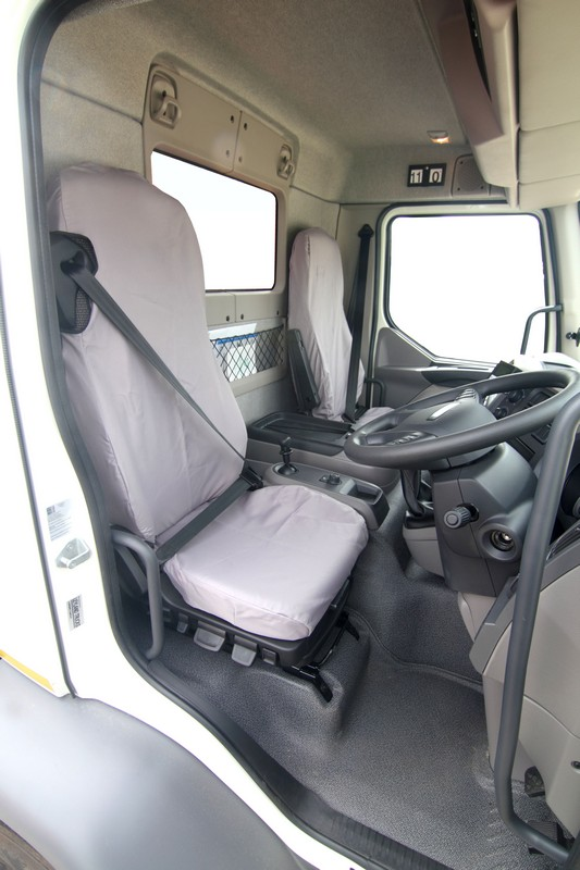 DAF LF DRIVER SEAT COVER- GREY