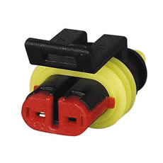 SUPER SEAL CONNECTOR (1.5MM) 2 WAY