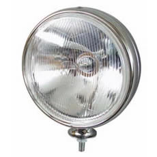 Round Chrome Commercial Vehicle Driving Lamp