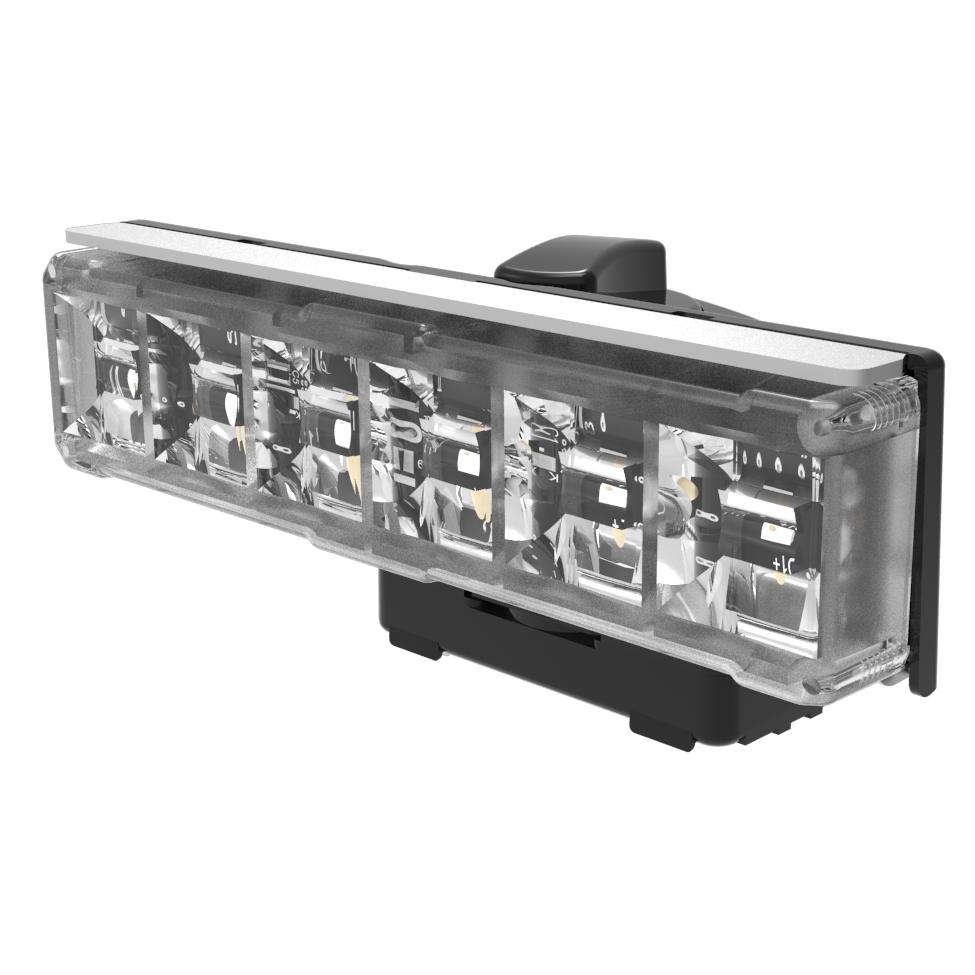 LED Warning Module: Axios, directional, 12-24VDC, green