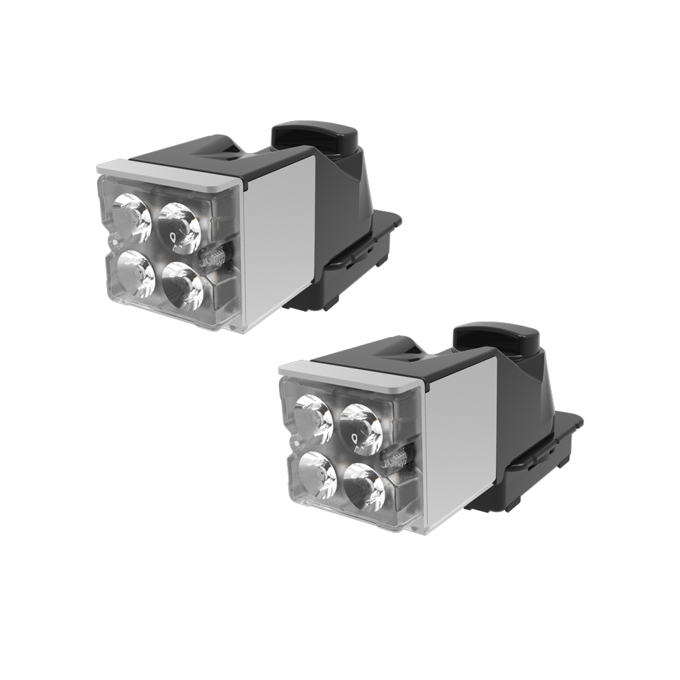 LED Auxiliary Module: Axios, alley light, 12-24VDC, x 2