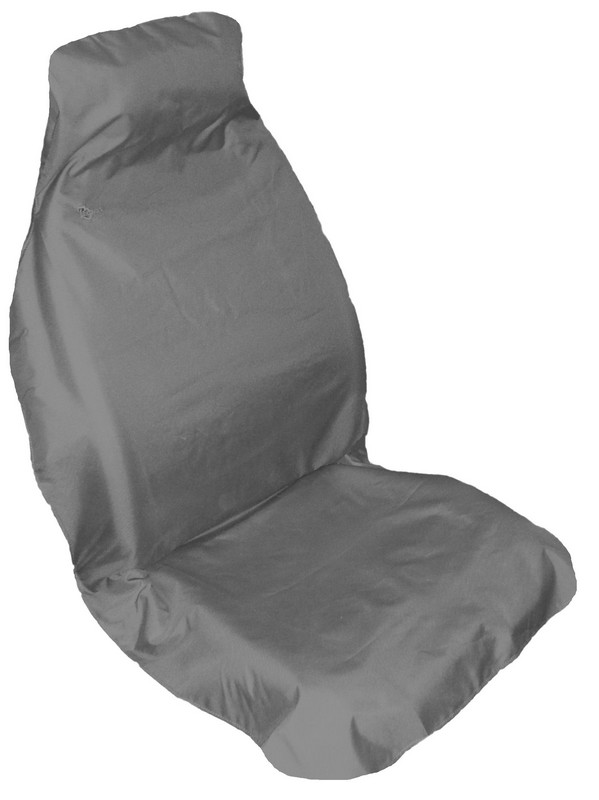 Fast Fit Universal Front Seat Cover- Grey