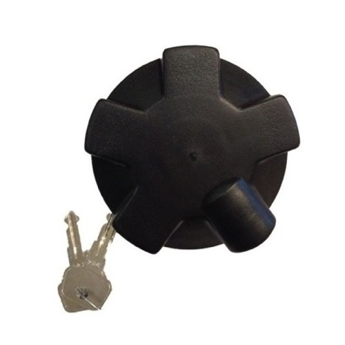 FUEL CAP LOCKABLE 60MM BAYONET PLASTIC SIDE LOCKING