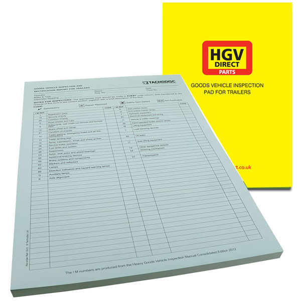 INSPECTION PAD FOR TRAILERS