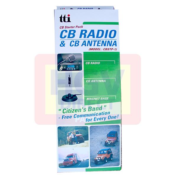 TTI CB STARTER PACK ONE (TCB550N + MAGNETIC ANTENNA)
