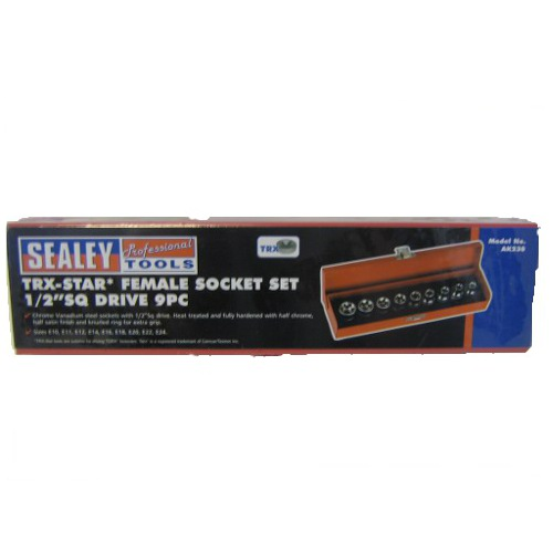 9 PIECE FEMALE SOCKET SET
