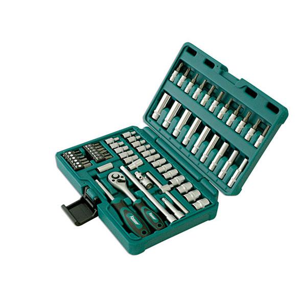 Kamasa 58 piece Socket Set 1/4\