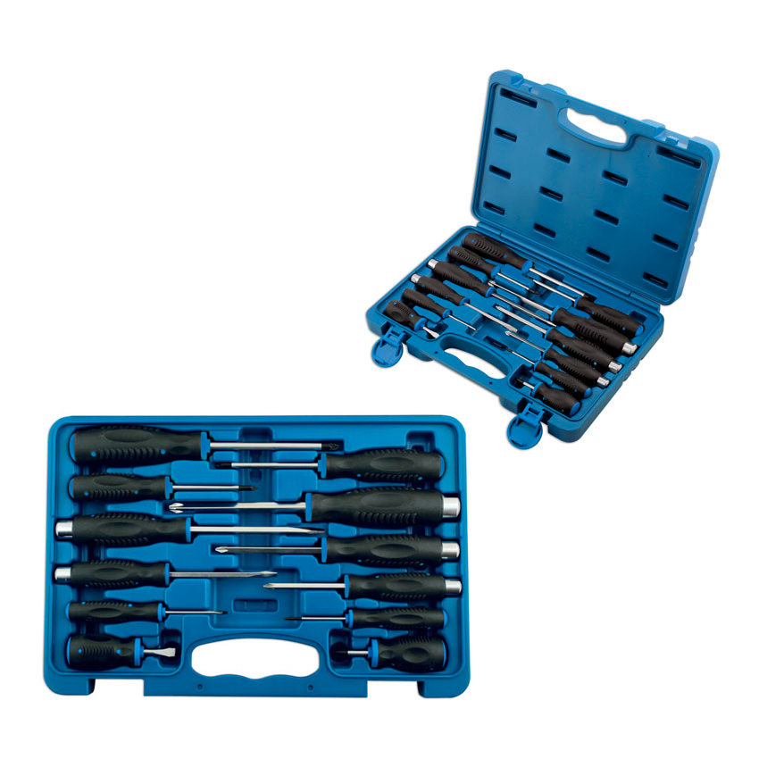 Screwdriver Set 12 Pieces With Case