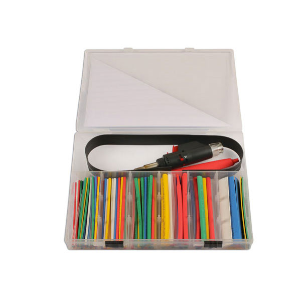 Mini Gas torch with heat shrink tubing kit