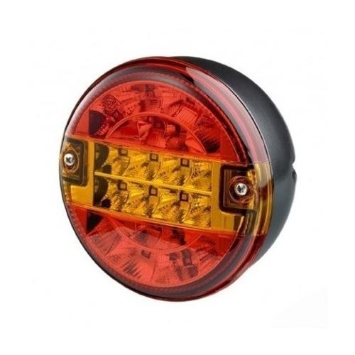 12-24V LED STOP TAIL REAR INDICATOR REAR LED LAMP 140MM X 84MM CHEESEBURGER LIGHT