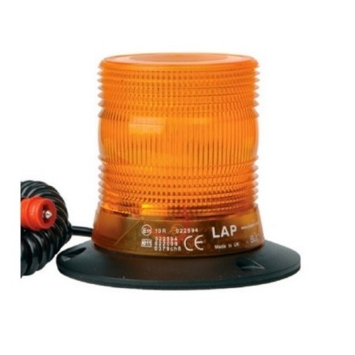 COMPACT XENON AMBER BEACON 10-30V 2W MAGNETIC FIX