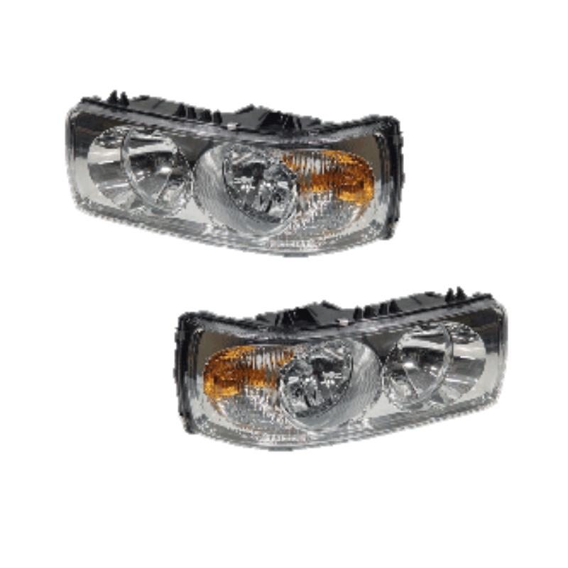 PAIR OF HEADLIGHT LEVELLERS L/H & R/H DAF LF CF XF W/O MOTOR