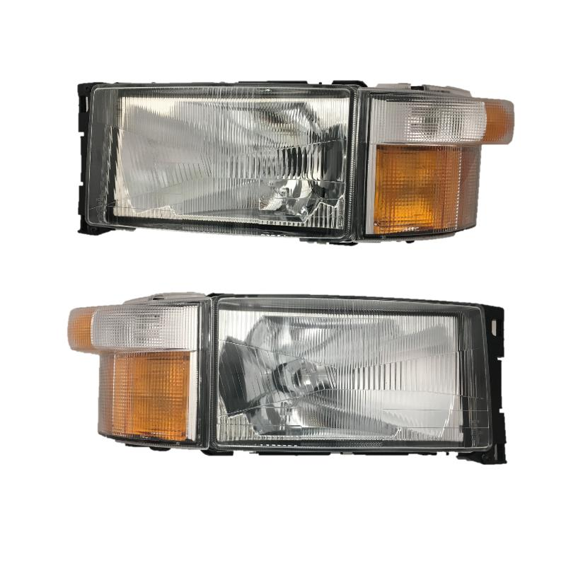 SCANIA 4 L/H & R/H HEADLAMP & INDICATOR SET