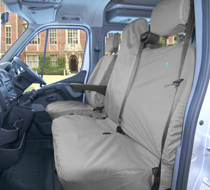 MASTER/MOVANO/NV400/INTERSTAR FRONT SEAT COVER SET- BLACK