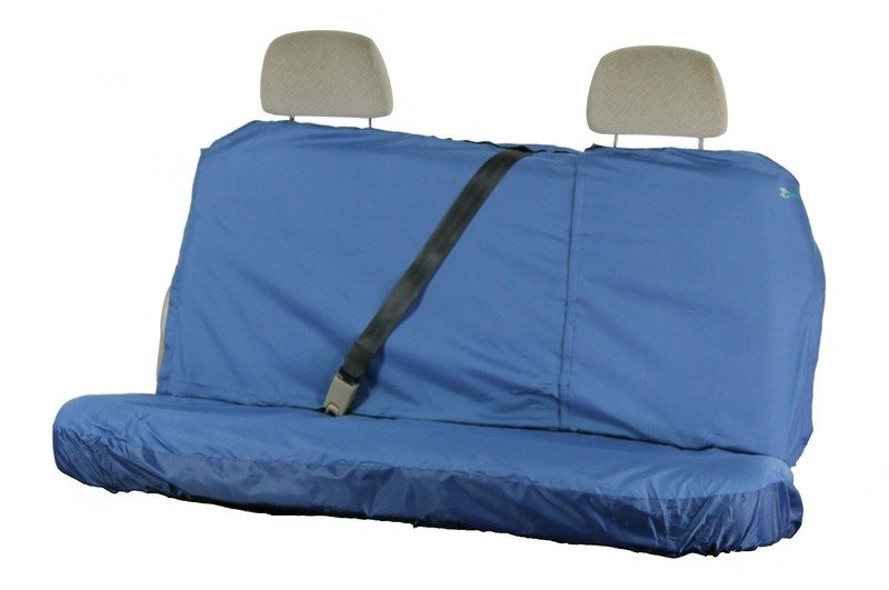 MULTI FIT REAR SEAT COVER (UP TO 137CM WIDE)- BLUE