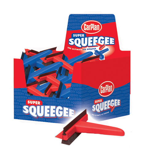 Super Squeegee and Ice Scraper