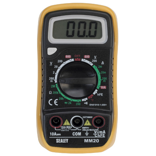 DIGITAL MULTIPLIER 20 FUNCTION WITH THERMOCOUPLE