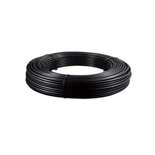 NYLON PIPE 6MM OD PER METRE PACK SIZE 30 METRE COIL BLACK