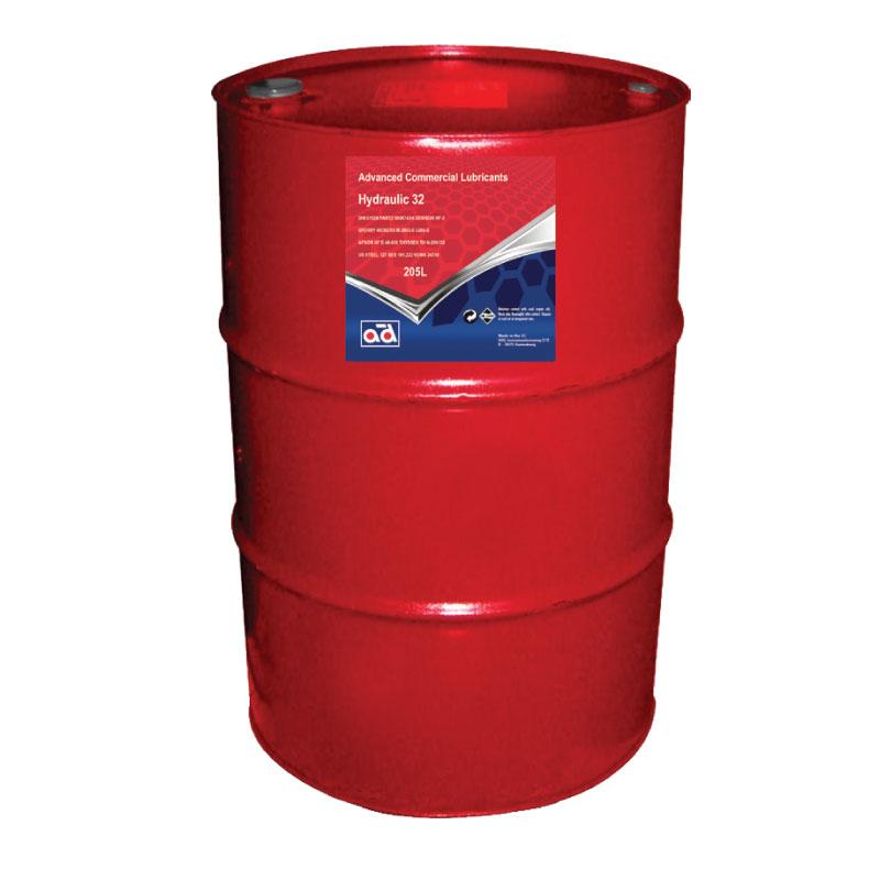 HYDRAULIC OIL 32 205LTR