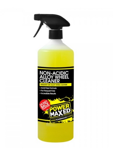 Power Maxed Frequent Use Non Acid Wheel Cleaner 1ltr