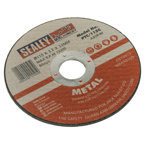 Cutting Disc 115mm x 3mm - 22mm Bore