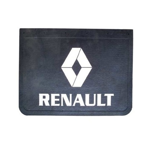 PRINTED RUBBER MUDLFAP RENAULT 24INCH X 18INCH