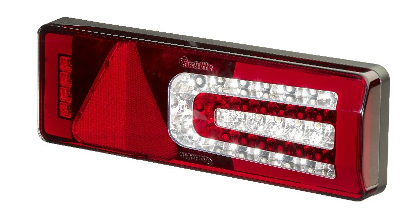 Multi-Function LED Rear Trailer Lamp with Homogenous Light and Progressive DI, Left Hand