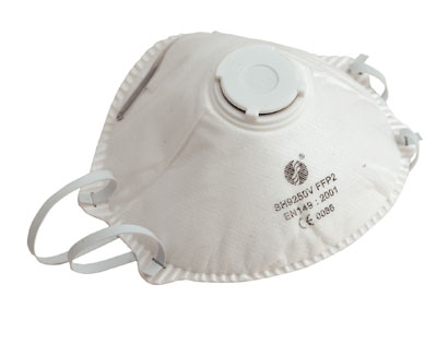 DISPOSABLE DUST MASK [VALVED]