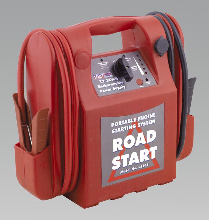 RoadStart Emergency Power Pack 12/24V 3200/1600 Peak Amps