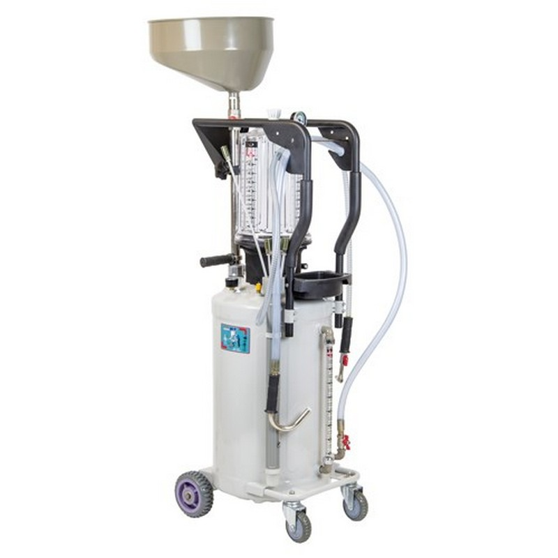 SIP 80 Litre Gravity/Suction Oil Drainer (with inspection chamber)