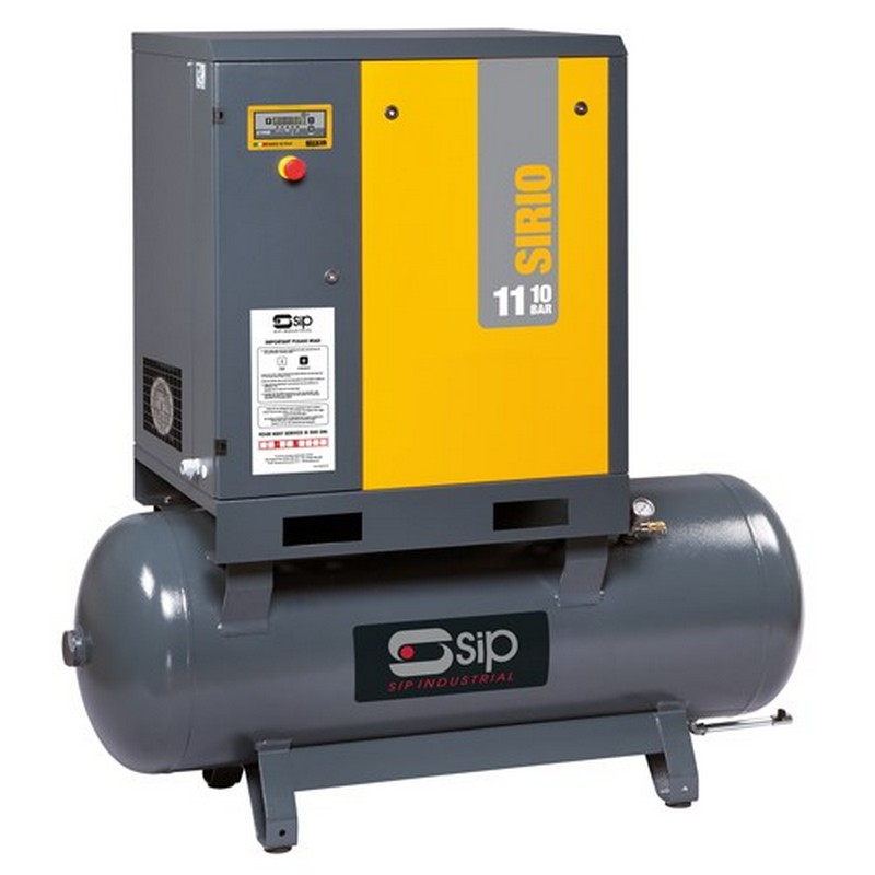 SIP Mercury & Sirio Industrial Screw Compressor (8.0-10-270)