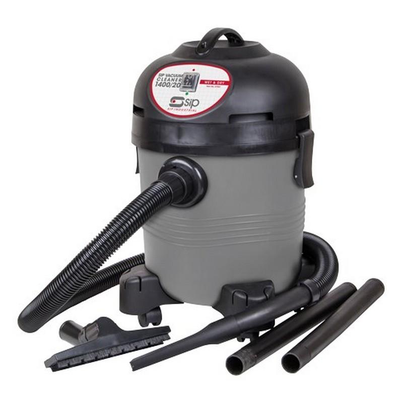 SIP Vacuum Cleaner 1400/20. Wet & Dry