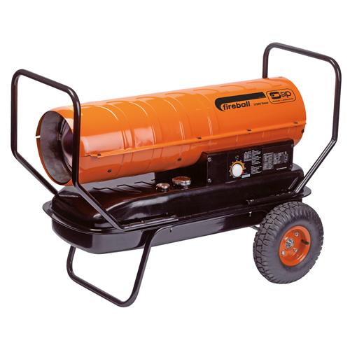 Fireball 125XD Diesel Paraffin Garage Workshop Heater