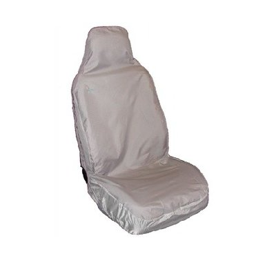SINGLE SEAT C/W INTEGRAL SEAT BELT COVER GREY
