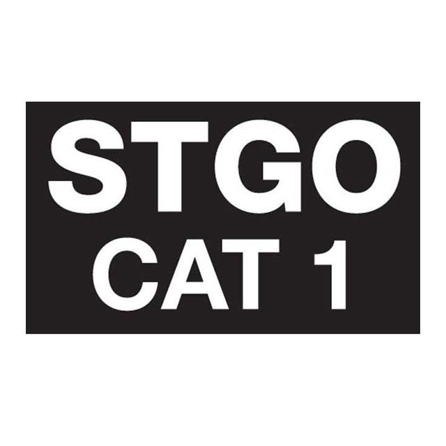 Abnormal Load Marker STGO Cat 1-2-3 Plate