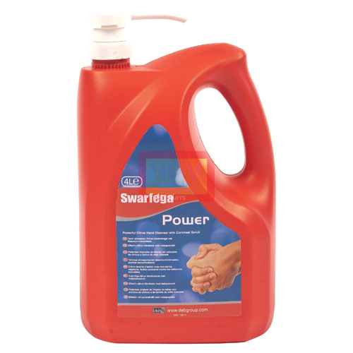 DEB POWER HAND CLEANER 4LTR PUMP